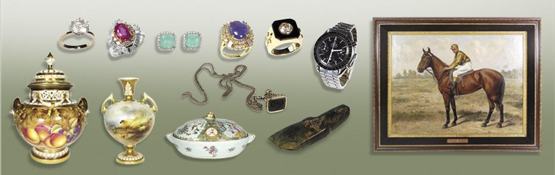 JEWELLERY, ANTIQUE & ART AUCTION